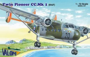 VLM72136  Scottish-Aviation Twin Pioneer (RAF) Decals RAF Benson 1964 and RAE Boscombe Down 1965-197